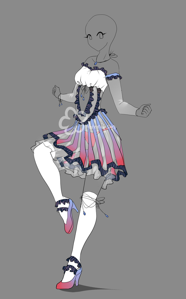 Dress Design Auction - Closed By Nahemii-san On DeviantArt