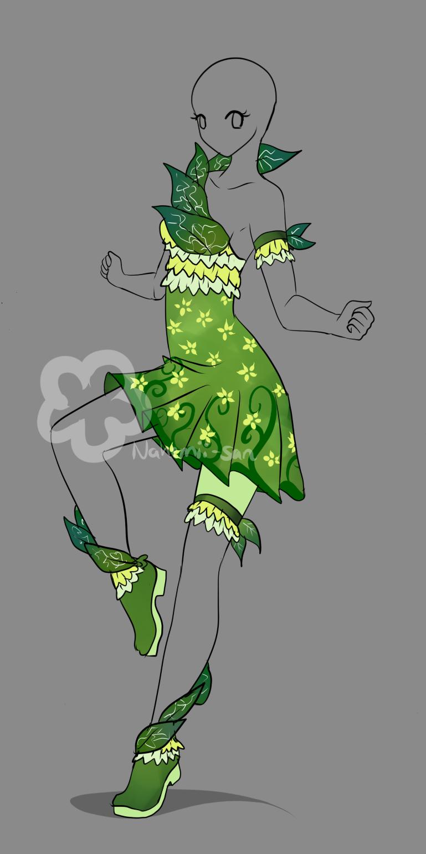 Elf Dress Design Sold By Nahemii San On Deviantart