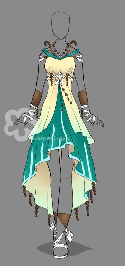 Dress Design - sold by Nahemii-san on DeviantArt