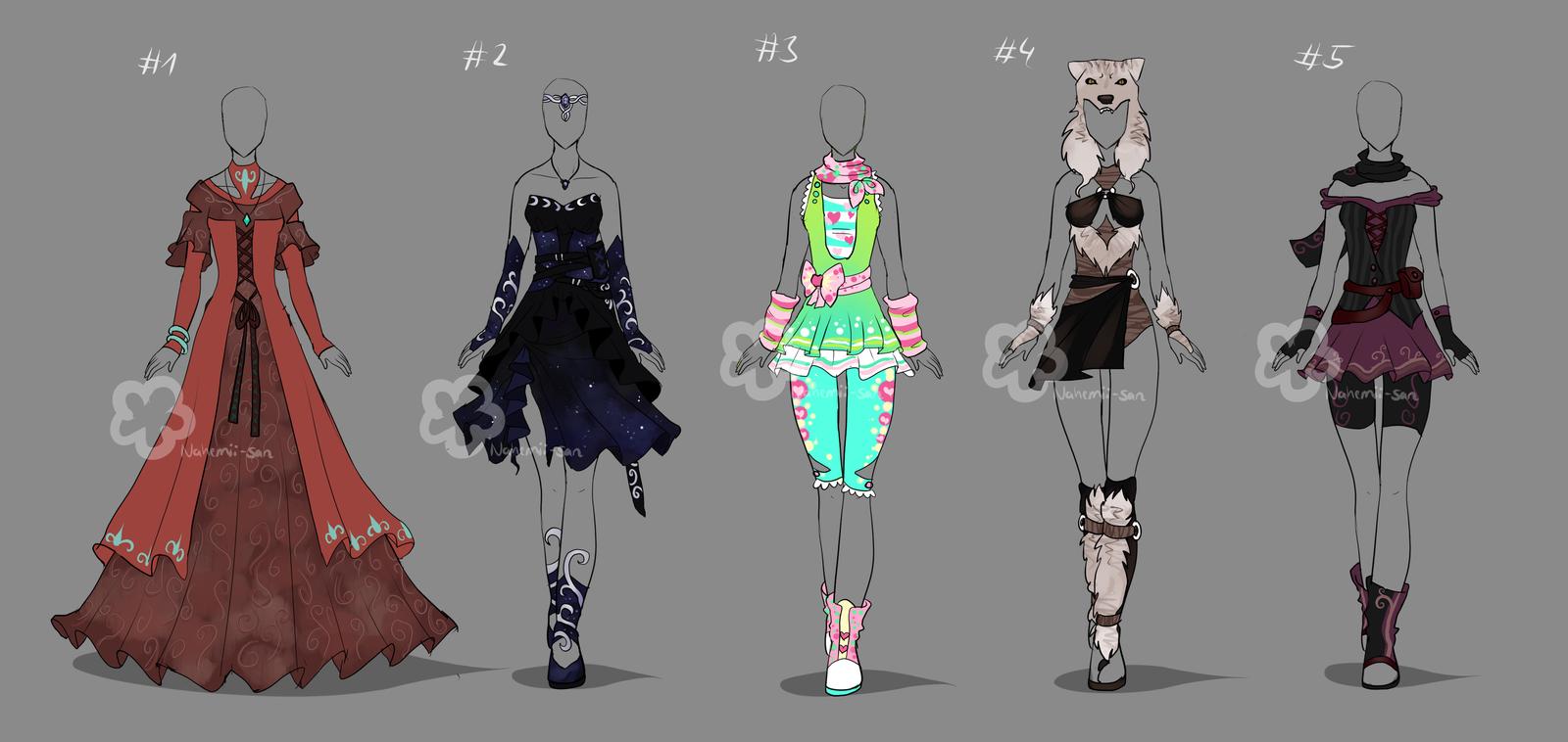 Custom Outfits #16 by Nahemii-san