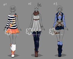 Outfit Contest - Entries #1 by Nahemii-san