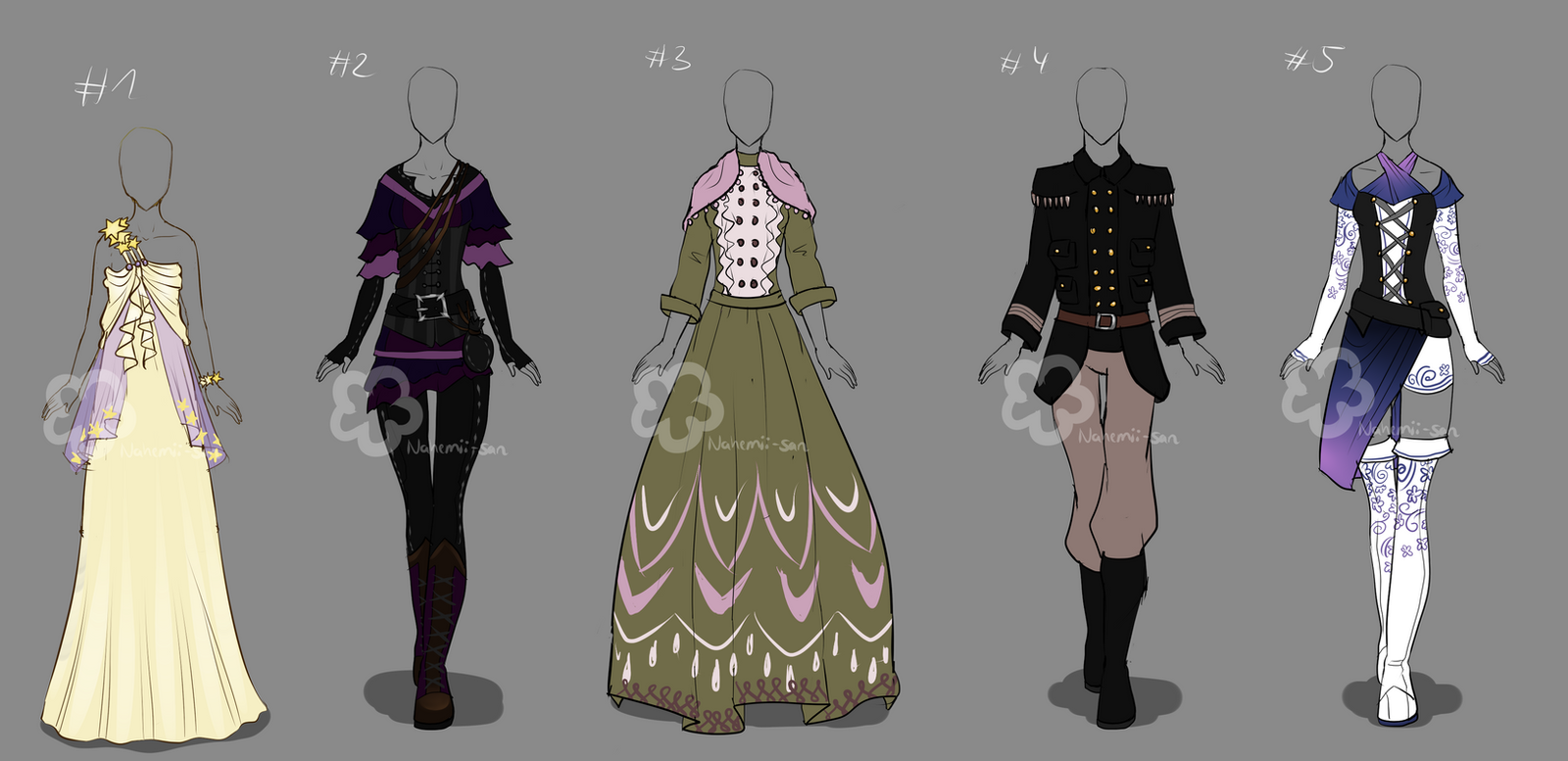 custom outfits 21nahemiisan on deviantart