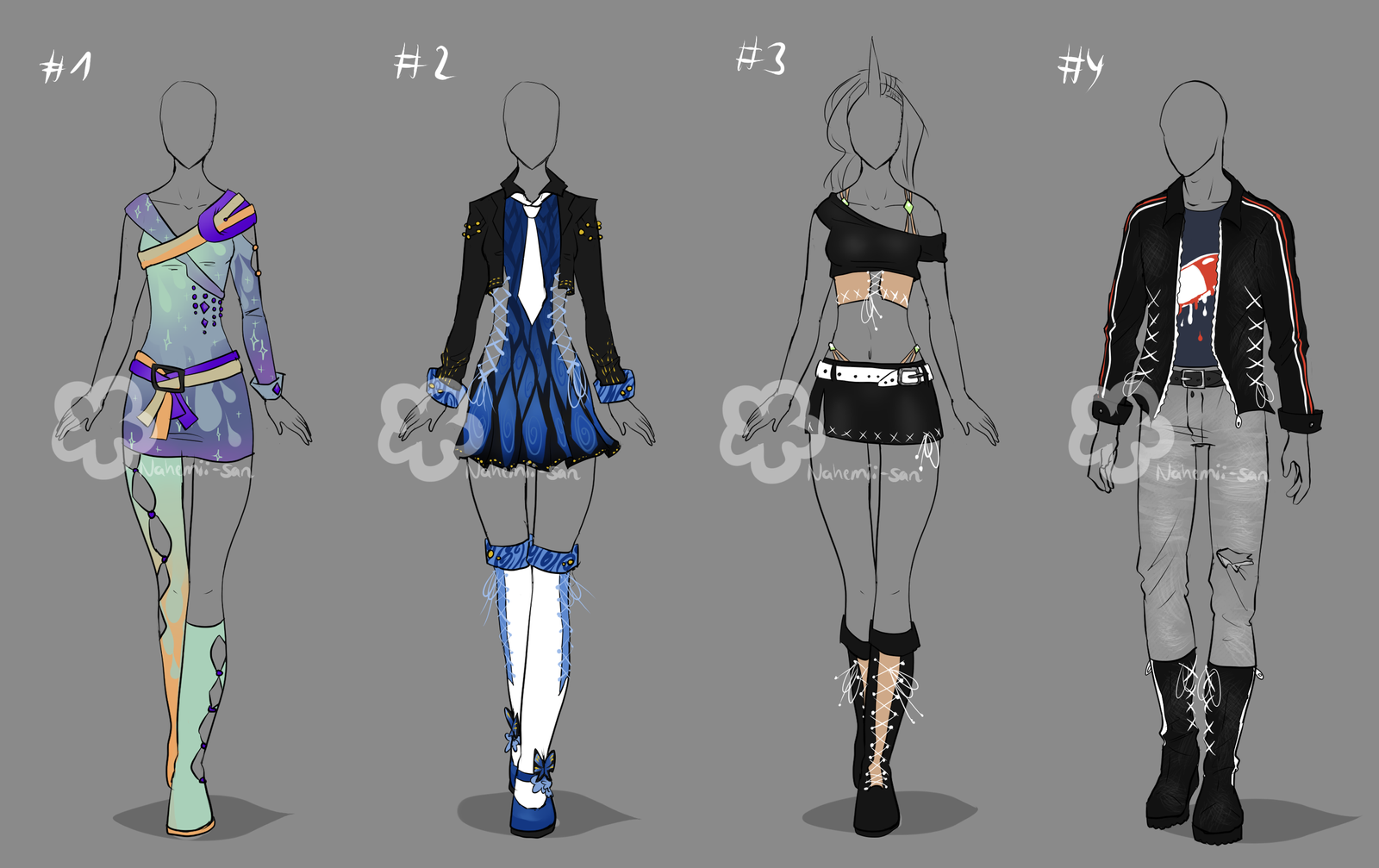Contest Prize Outfits By Nahemii San On Deviantart