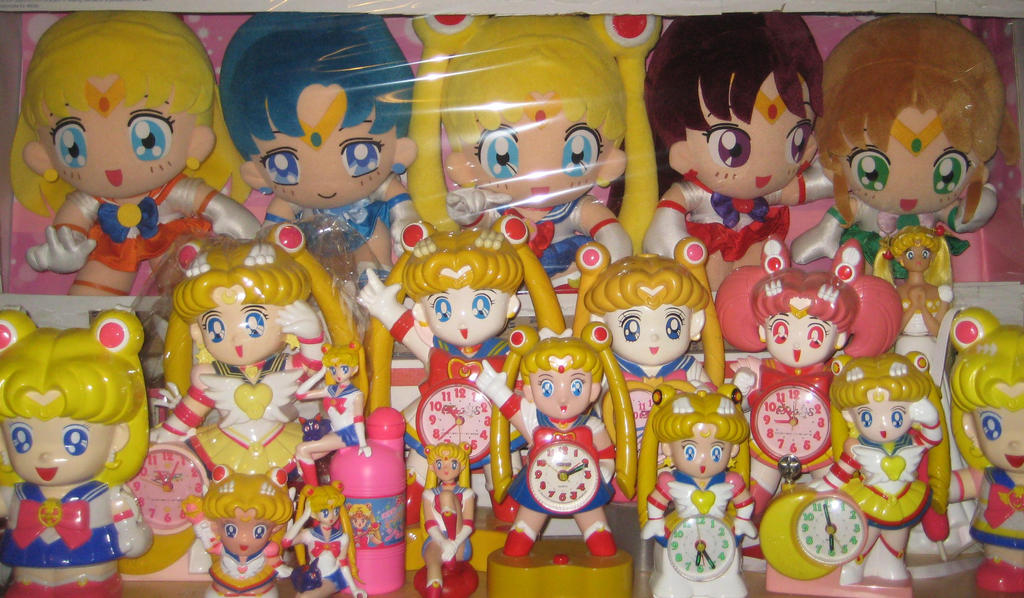 Sailor Moon Clocks by manamanson