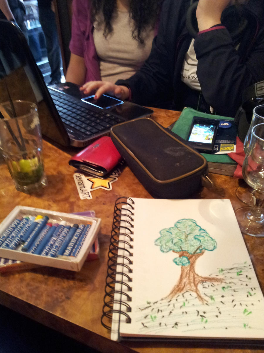 deviantart meeting in working by atsumimag