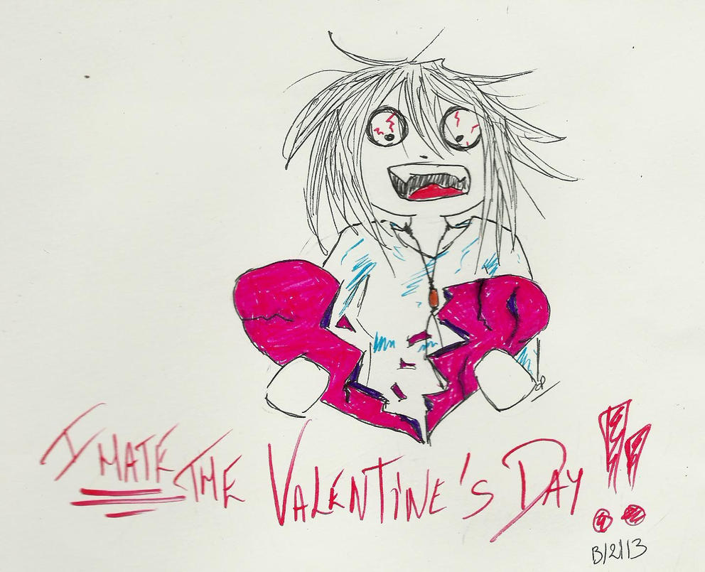 i hate the valentine's day(s)! by atsumimag