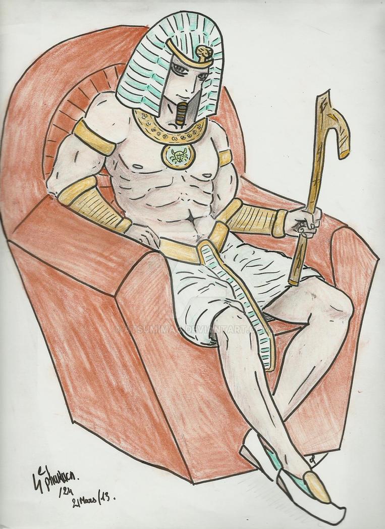 pharaon 4 sur 24 by atsumimag
