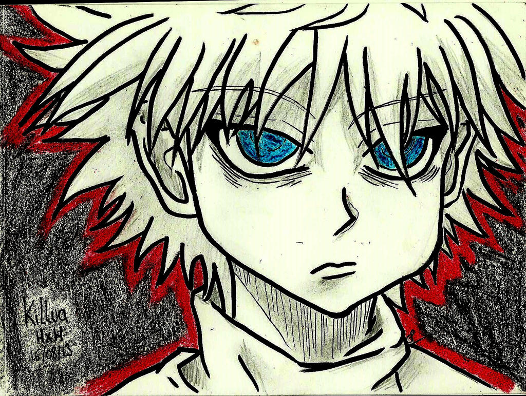 Killua hunter x hunter fanart by atsumimag