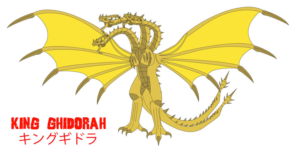Godzilla Endgame - KING GHIDORAH by Daizua123