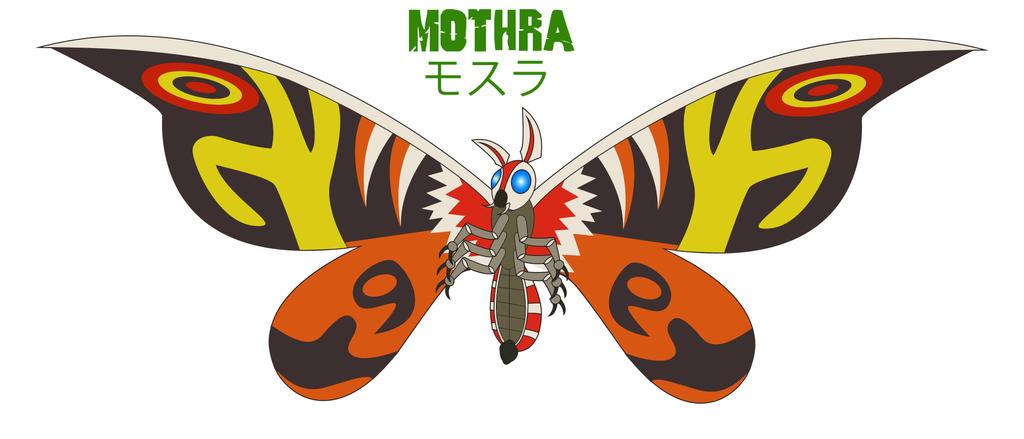 Godzilla Endgame - MOTHRA by Daizua123