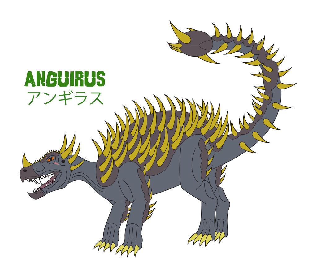 Godzilla Endgame - ANGUIRUS by Daizua123