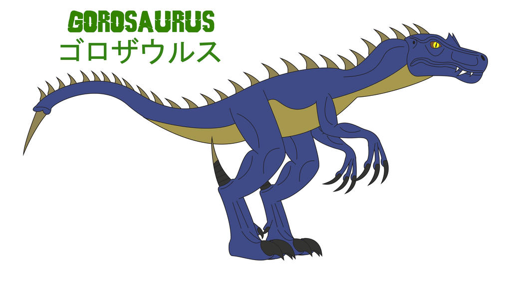 Godzilla Endgame - GOROSAURUS by Daizua123