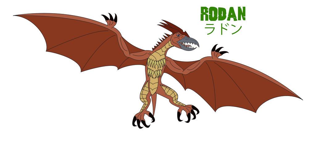 Godzilla Endgame - RODAN by Daizua123