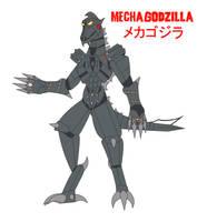 Godzilla Endgame - MECHAGODZILLA by Daizua123