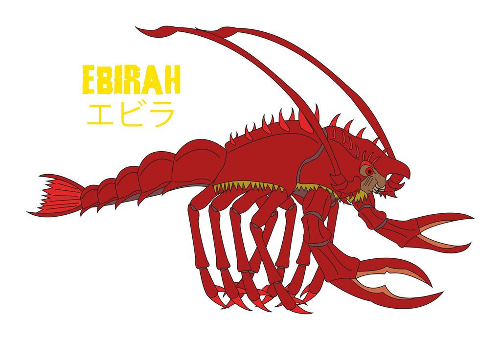 Godzilla Endgame - EBIRAH by Daizua123