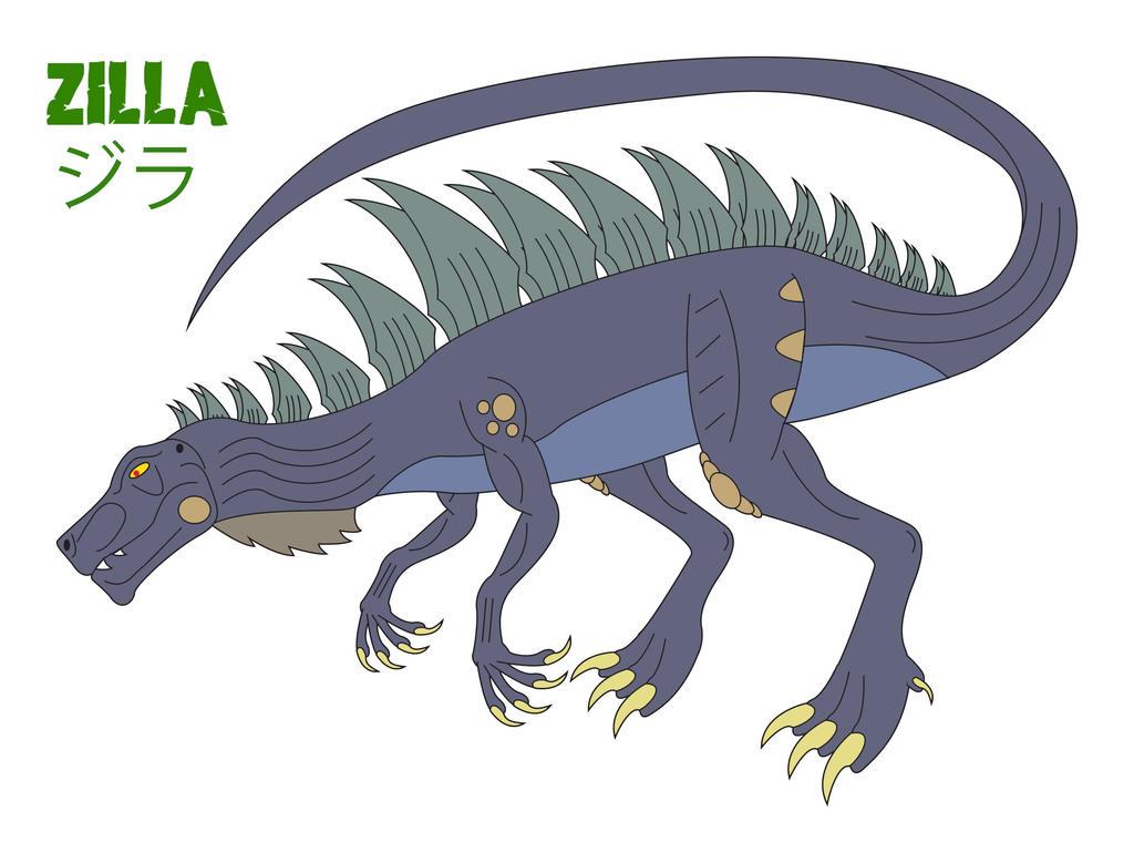 Godzilla Endgame - ZILLA by Daizua123