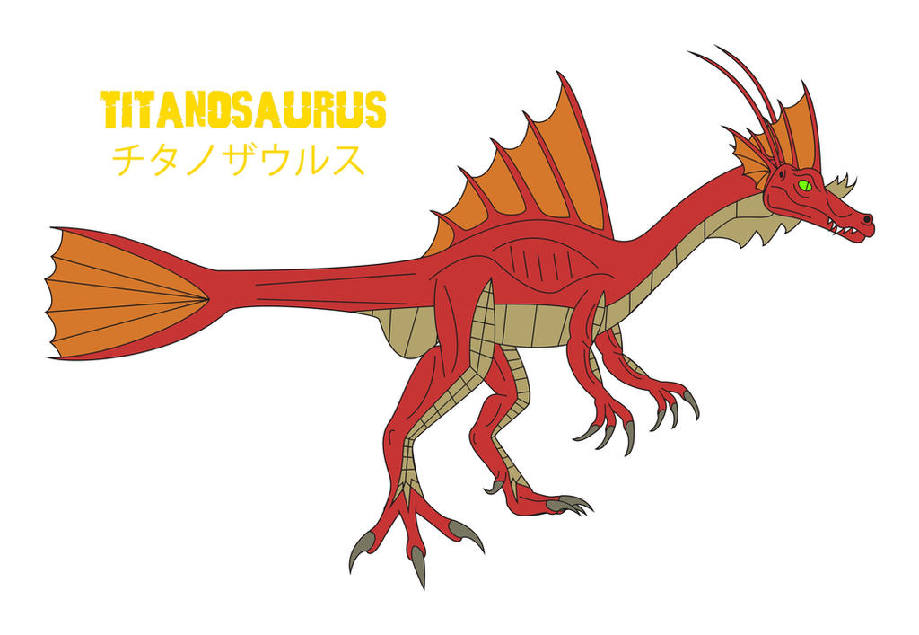 Godzilla Endgame - TITANOSAURUS by Daizua123