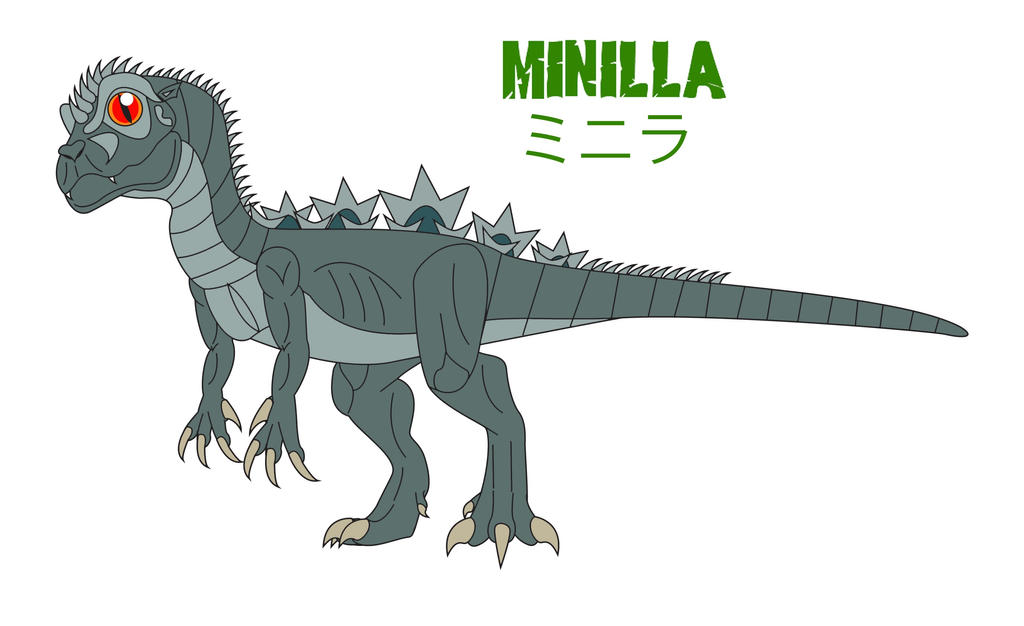 Godzilla Endgame - MINILLA by Daizua123