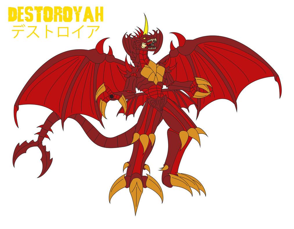 Godzilla Endgame - DESTOROYAH by Daizua123