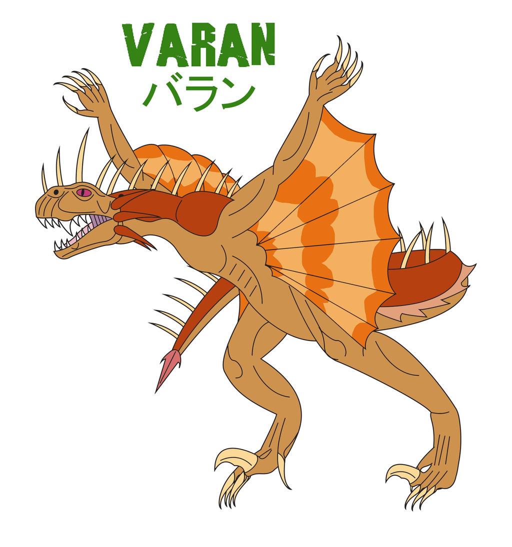 Godzilla Endgame - VARAN by Daizua123