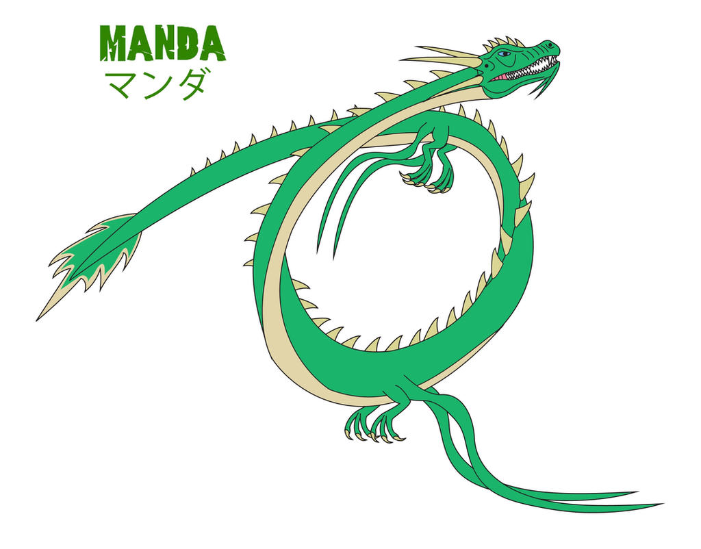 Godzilla Endgame - MANDA by Daizua123