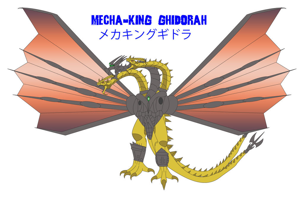 Godzilla Endgame - MECHA-KING GHIDORAH by Daizua123