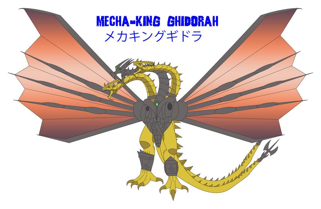 Godzilla Endgame - MECHA-KING GHIDORAH by Daizua123