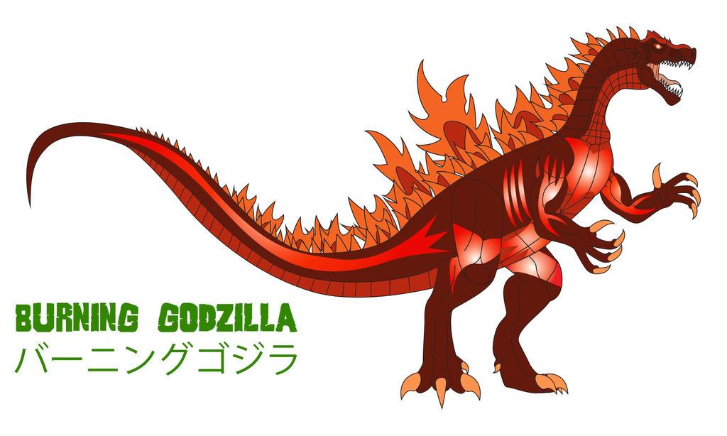 Godzilla Endgame - BURNING GODZILLA by Daizua123