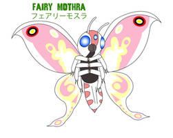 Godzilla Endgame - FAIRY MOTHRA by Daizua123