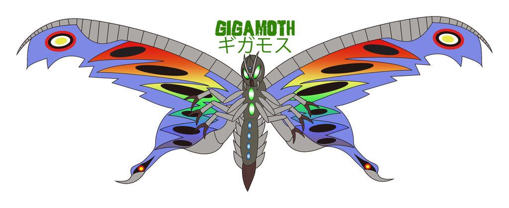 Godzilla Endgame - GIGAMOTH by Daizua123