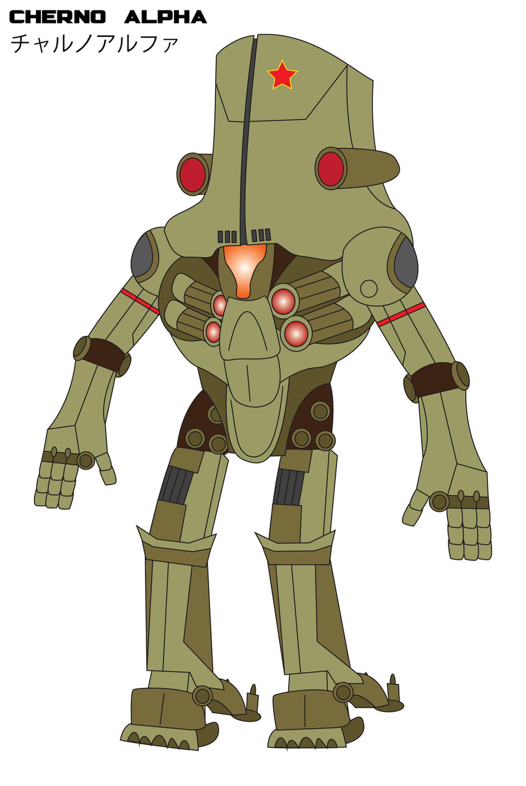 The Pacific Rim - CHERNO ALPHA by Daizua123 on DeviantArt Pacific Rim Cherno Alpha Anime