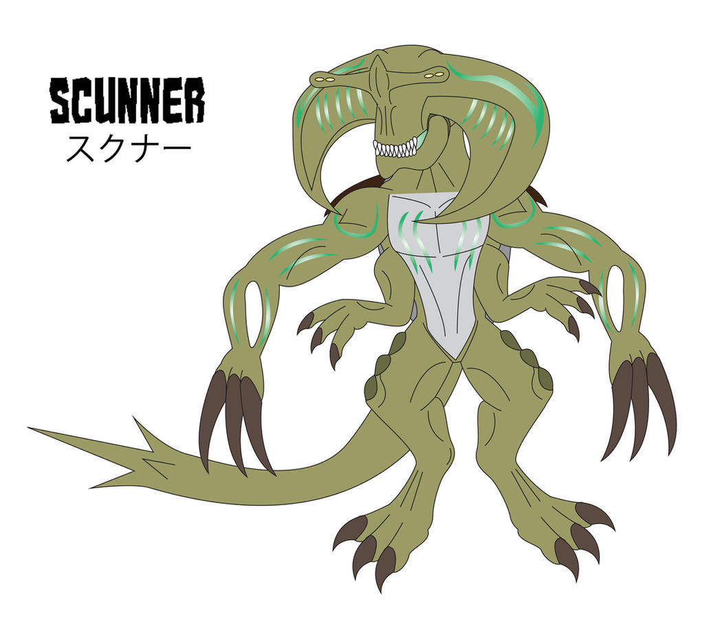 The Pacific Rim - SCUNNER by Daizua123 on DeviantArt Pacific Rim Scunner Drawing