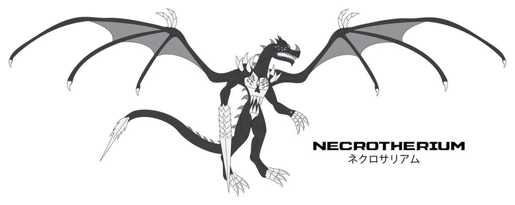 Kaiju Awakened - NECROTHERIUM by Daizua123