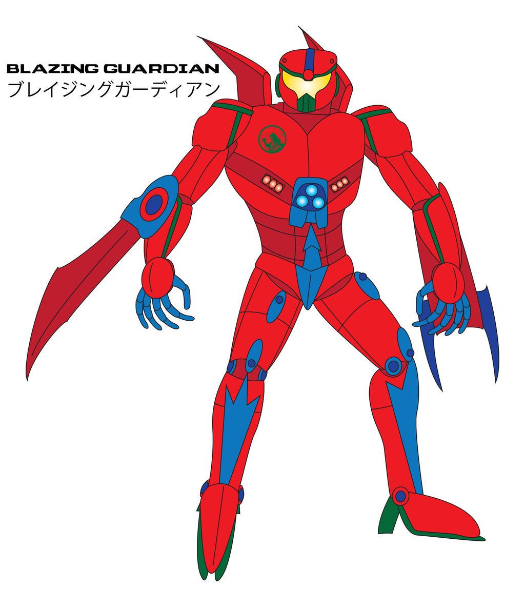 Kaiju Awakened - BLAZING GUARDIAN by Daizua123