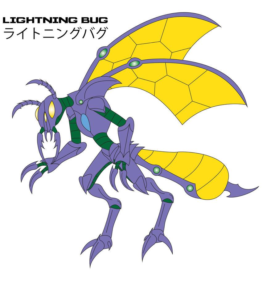Kaiju Awakened - LIGHTNING BUG by Daizua123