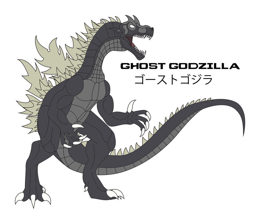 Kaiju Awakened - GHOST GODZILLA by Daizua123
