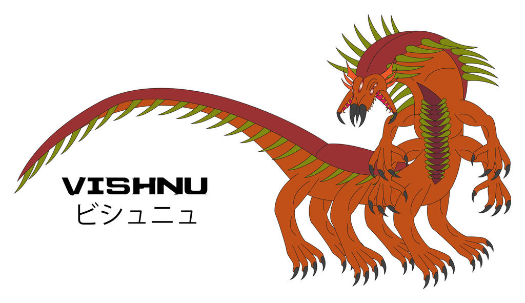 Kaiju Awakened - VISHNU by Daizua123