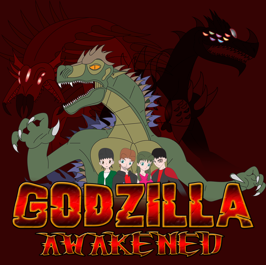 Kaiju Posters 3 of 4 - Godzilla: Awakened by Daizua123