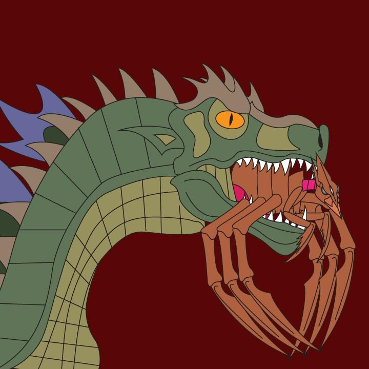 Godzilla vs. Muto by Daizua123