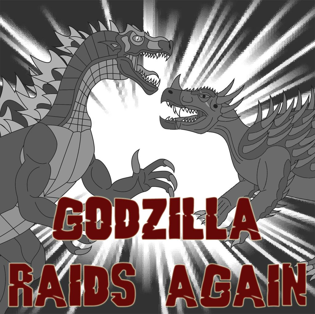 Godzilla Raids Again by Daizua123