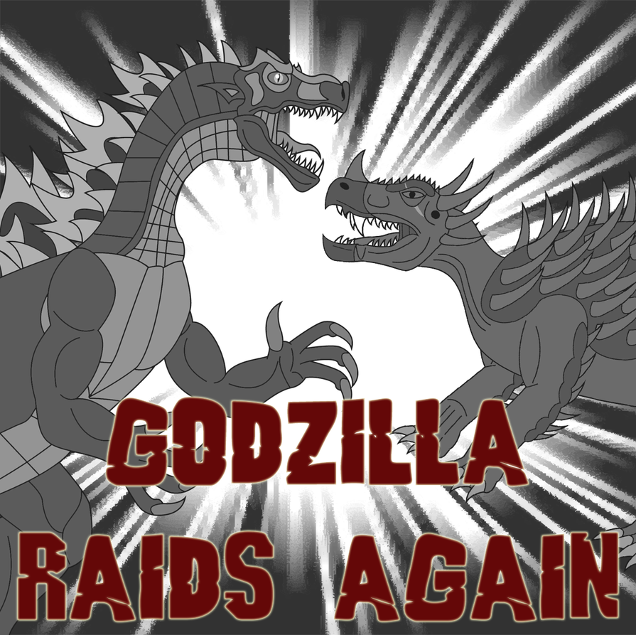 Godzilla Raids Again by Daizua123