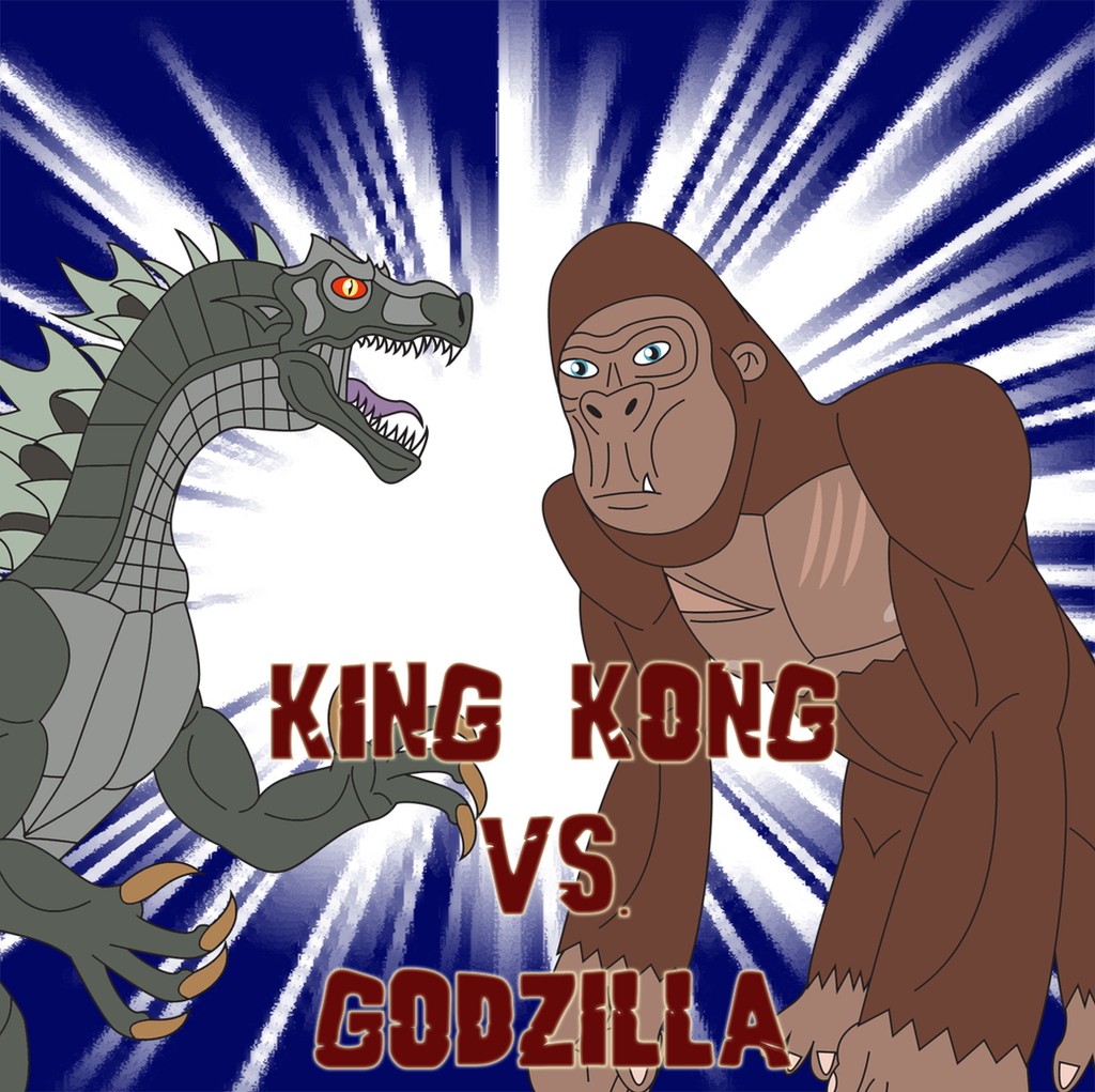 King Kong vs. Godzilla by Daizua123