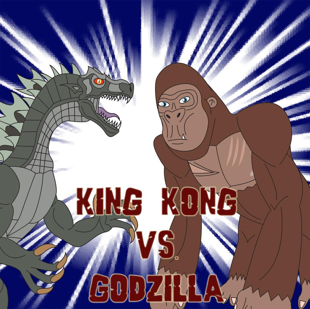 King Kong vs. Godzilla by Daizua123