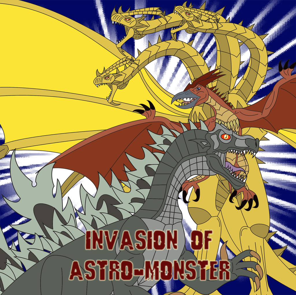 Invasion of Astro-Monster by Daizua123