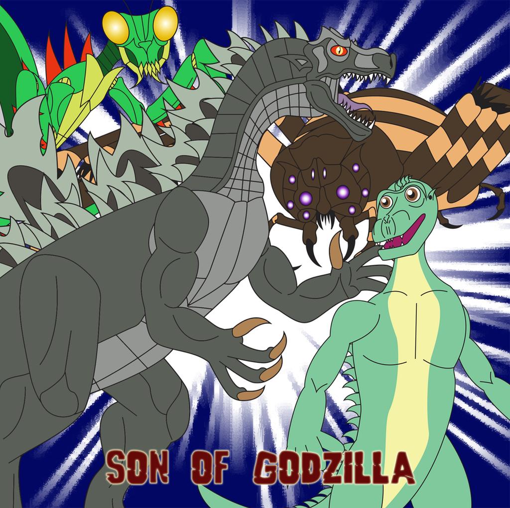 Son of Godzilla by Daizua123