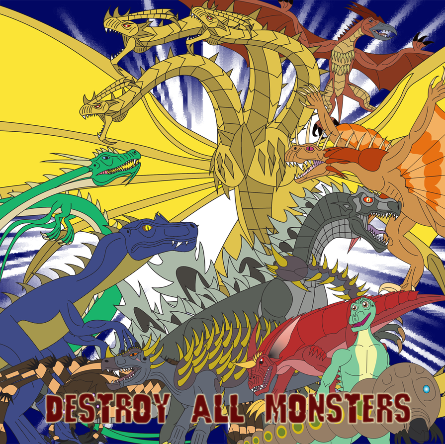 Destroy All Monsters by Daizua123