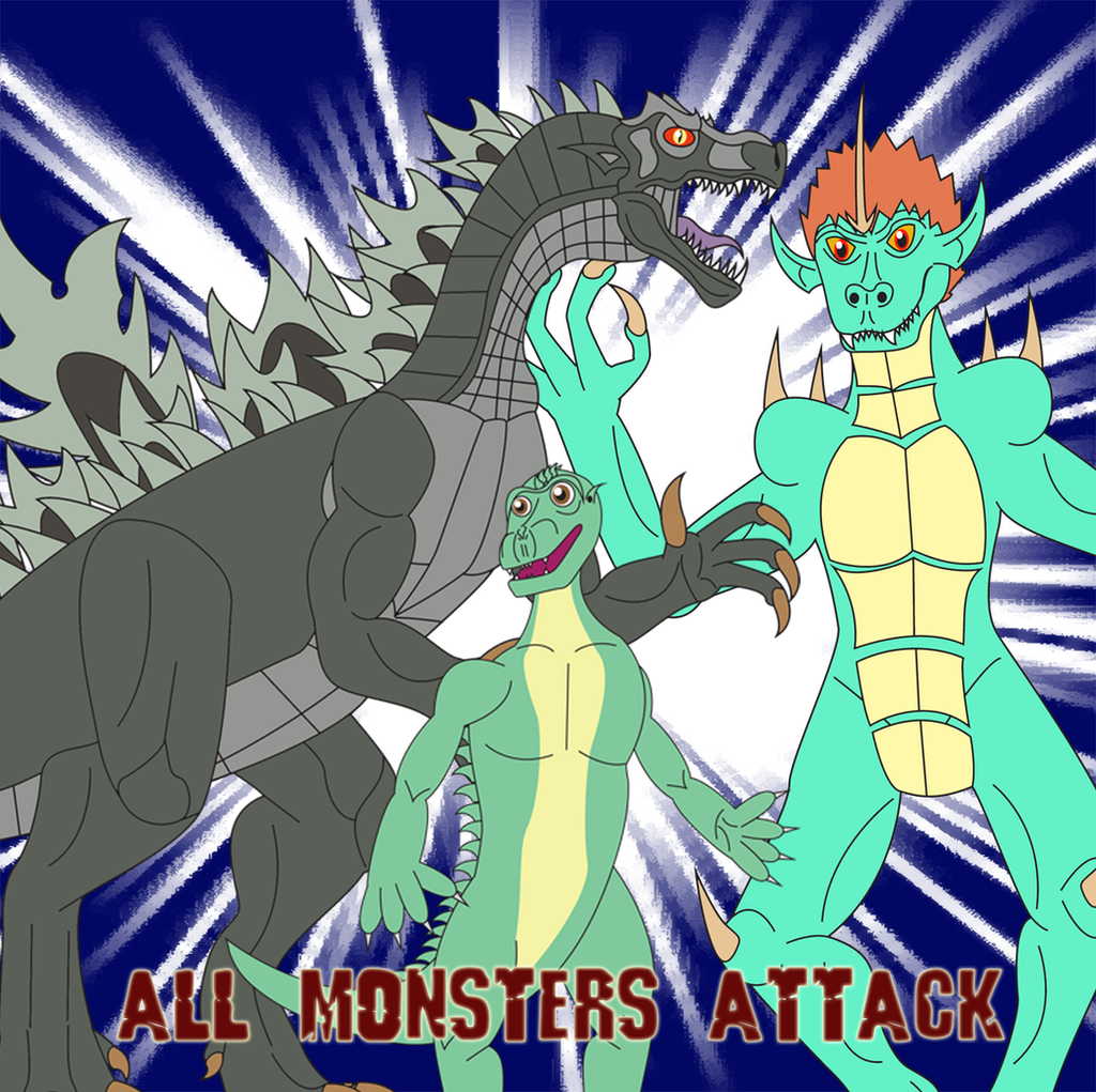 All Monsters Attack by Daizua123