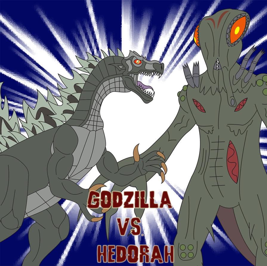 Godzilla vs. Hedorah by Daizua123