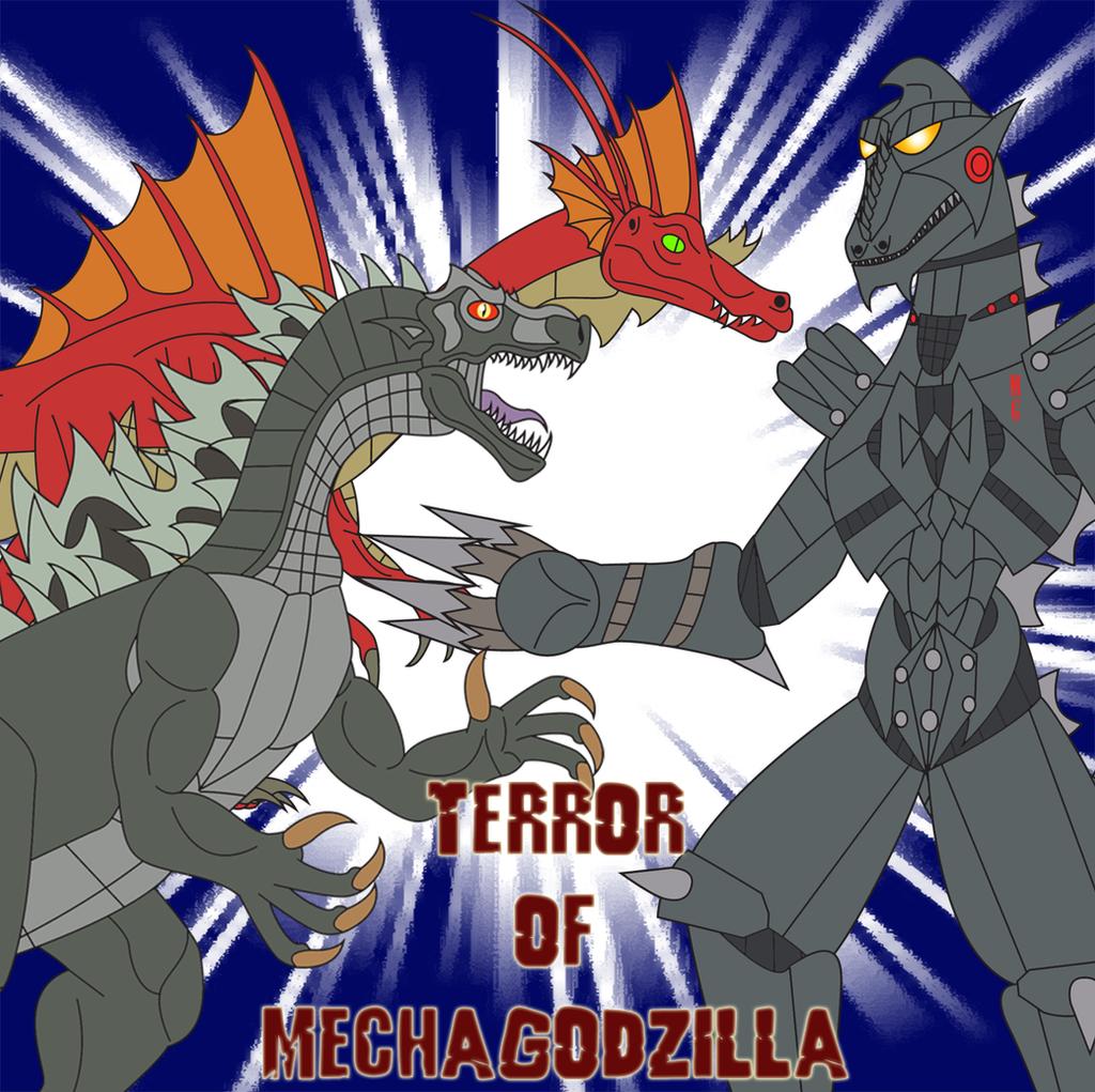 Terror of Mechagodzilla by Daizua123