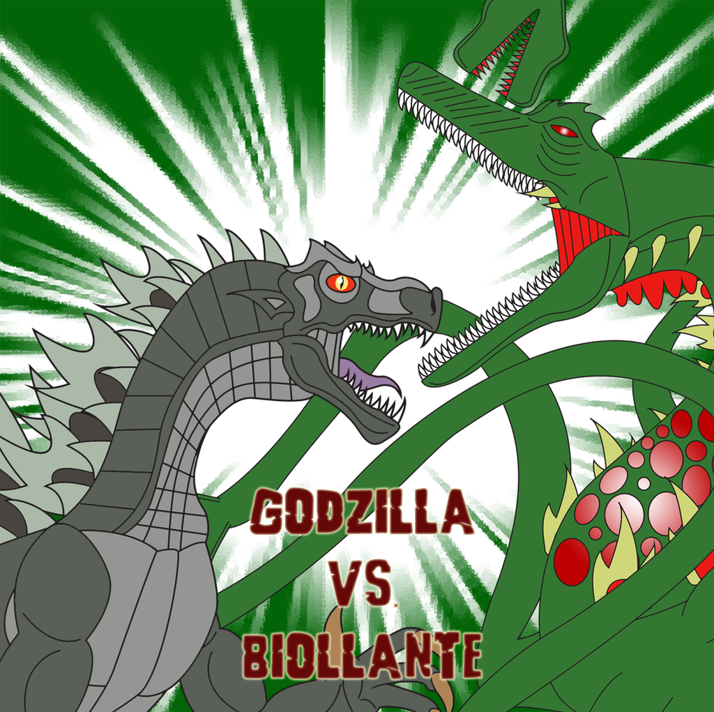 Godzilla vs. Biollante by Daizua123